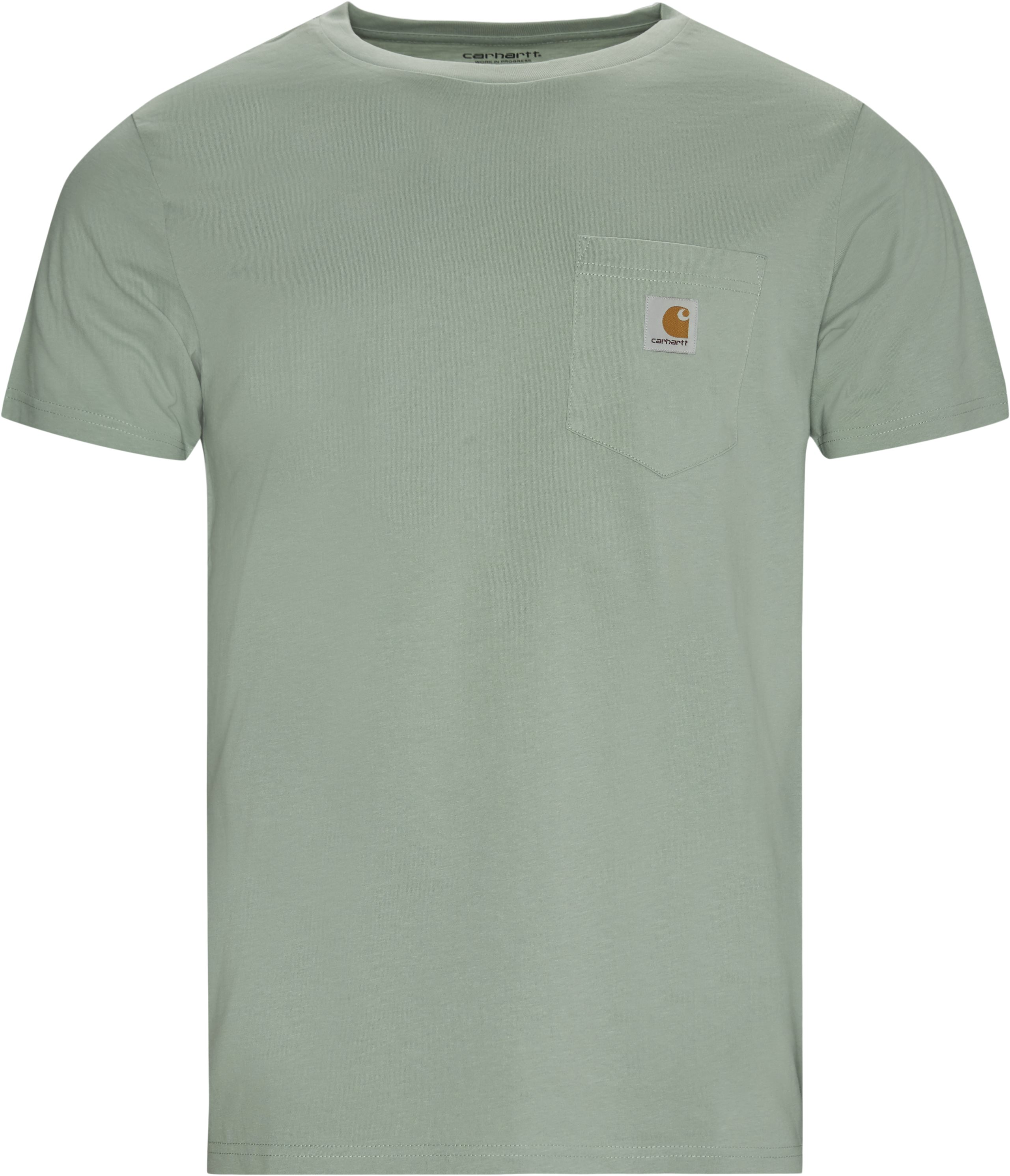 Pocket Tee - T-shirts - Regular fit - Grøn